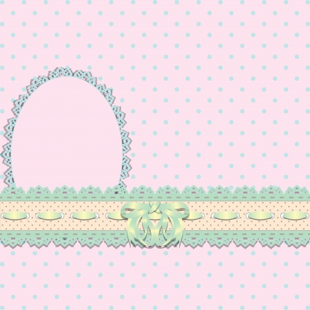 fondo para bebe: Delicado encaje fondo abstracto ilustraci�n vectorial