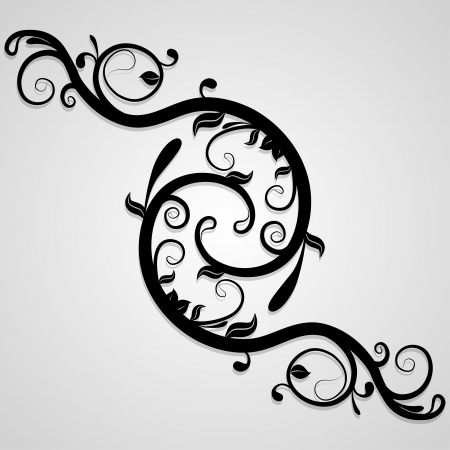whorls: Delicate background of whorls. Decorative elements can be used independently. Vector illustration.