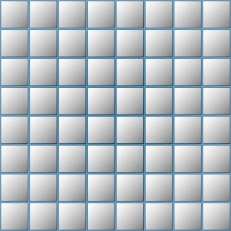 Blue-gray seamless pattern of square tiles  Vector illustration Stock Vector - 22805558