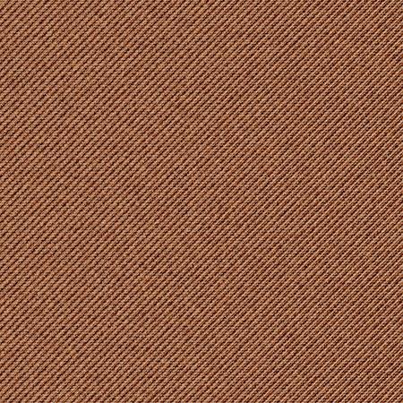 hem: Seamless texture of brown denim diagonal hem. Vector illustration.