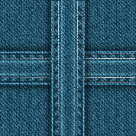 zones: Denim pattern is divided into four zones.