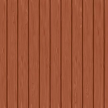 mahogany: Seamless background of mahogany planks. Vector illustration. Illustration