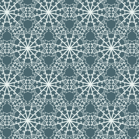 Seamless abstract pattern with repeating geometric ornament in ethnic style. Vector illustration. Vector