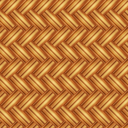 Seamless pattern wicker light straw color. Vector illustration