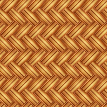 Seamless pattern wicker light straw color. Vector illustration