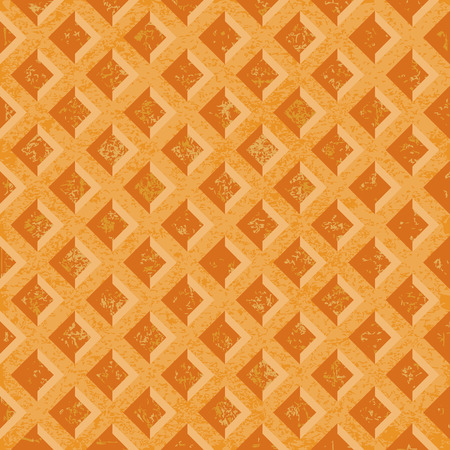 toasted: Seamless texture soft waffles. The textured surface of toasted golden brown. Vector illustration Illustration