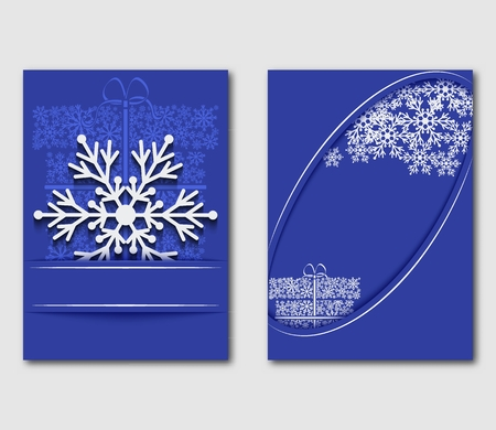 I love the winter greeting card with snowflakes and gift box can be i love the winter greeting card with snowflakes and gift box can be used as m4hsunfo