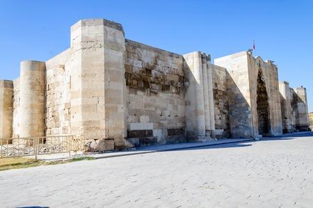 The Sultanhani Caravanserai, Aksaray, Turkey. Silk Road.