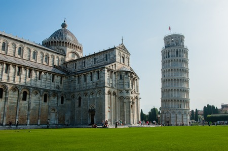 miracle square: Famous Miracle square at summer in Pisa, Italy