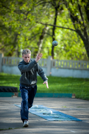 Championship of Bocce Progressive on Iskra stadium in Moscow