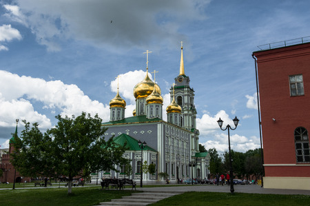 belfry: Uspensky Cathedral and the Tower of the Tula Kremlin, Russia