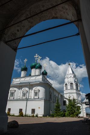 Pereslavl-Zalessky stad. Nikitsky-klooster. Een van de oudste in Rusland.