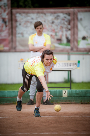 The oldest Russian tournament Sozidanie of Bocce raffa