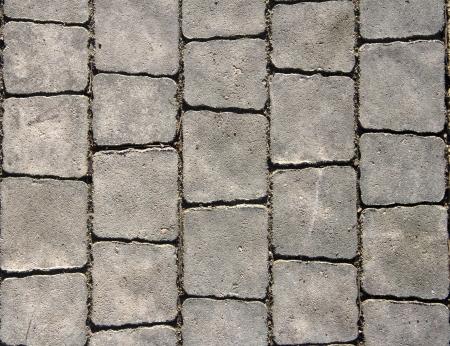 Losas grises en la calle de la ciudad Foto de archivo - 19262848