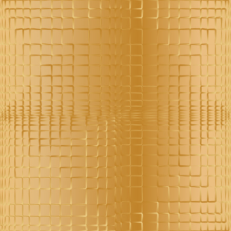 used ornament: Golden abstract geometric ornament. Can be used for wallpaper, pattern fills, web page background,surface textures.