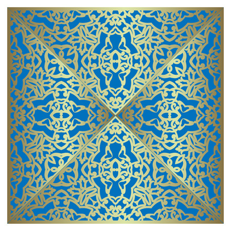 lazer: Wedding invitation or Christmas greeting card with lace ornament. Laser cut elements design. Vector illustration.