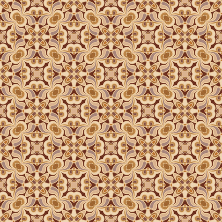 Seamless floral pattern. Decorative and design elements for textile or book covers, manufacturing, wallpapers, print, gift wrap.