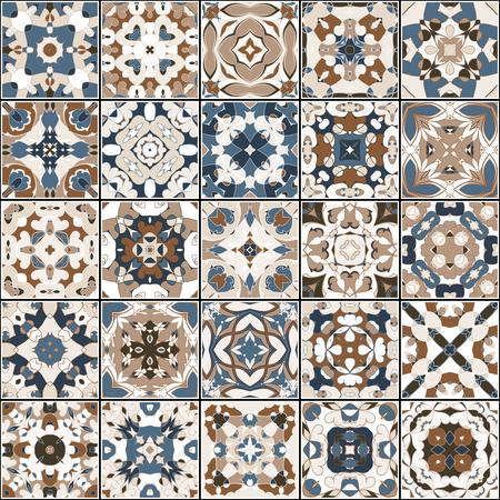 Colección de azulejos de cerámica