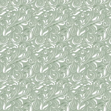 victorian wallpaper: Seamless abstract pattern in Baroque style. Decorative and design elements for textile or book covers, manufacturing, wallpapers, print, gift wrap.
