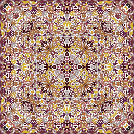 Bright colored handkerchief.  イラスト・ベクター素材