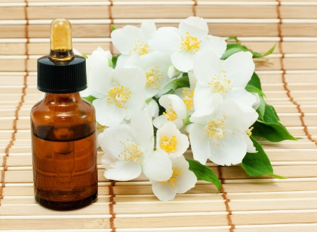 concentrate on: Jasmine oil (essence or concentrate)