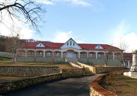recluse: Convent Suruceni area in the Republic of Moldova