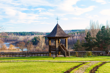 THE WOODEN CHURCH OF WOOD historical monument, sec. XVII