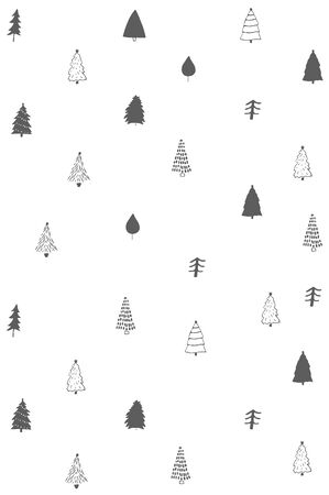 winter fairy tale cloud card snowing snow x-mas holidays  seamless pattern background wallpaper 일러스트