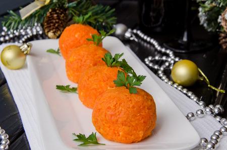 """comida de navidad: Merienda de Navidad """"falsos mandarinas"""""""