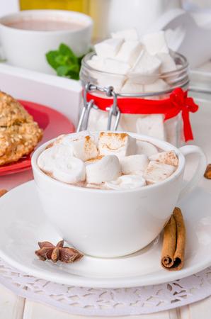 homemade marshmallows Imagens