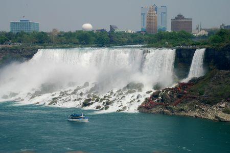 view of Niagara Falls Stok Fotoğraf