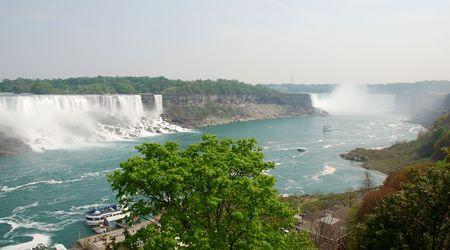 both Niagara Falls