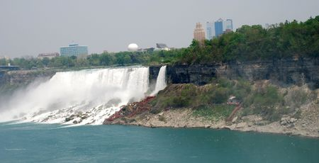 Niagara Falls and City view