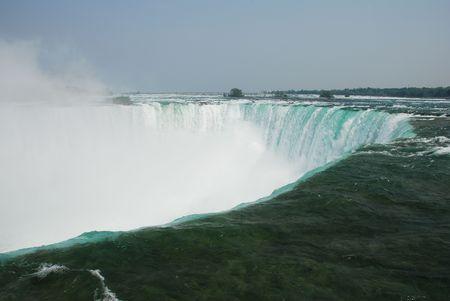 huge niagara falls