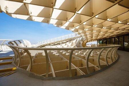 winding paths Metropol Parasol in Plaza de la Encarnacion in Seville