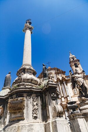 Column of the Immaculate Conception in Palermo