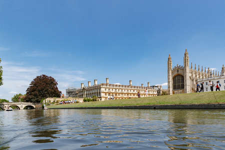 Kings College Chapel, Gibbs Building, Clare College MCR