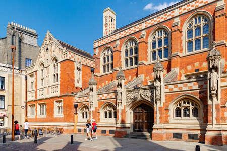 Old Divinity School, College of Saint John the Evangelist in the University Editorial