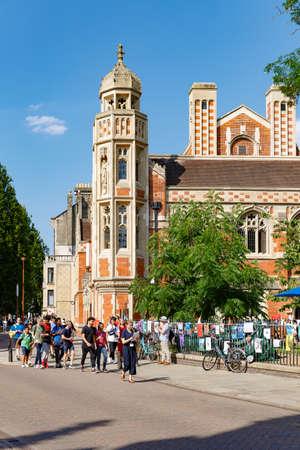 Old Divinity School, College of St John the Evangelist in the University