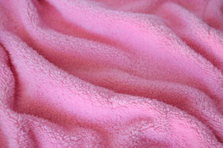 Very soft and gentle pink knitted texture fabric. Textile cloth background. Reklamní fotografie