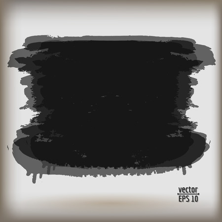 watercolor brush: Vector watercolor colored brush background texture