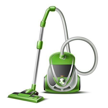 Vacuum cleaner on white Ilustrace