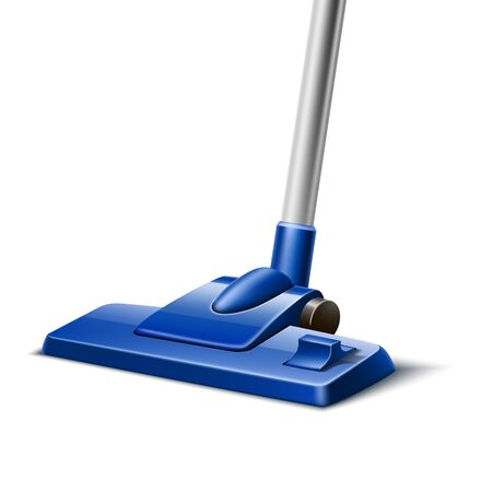 Vacuum cleaner nozzle on white Ilustrace