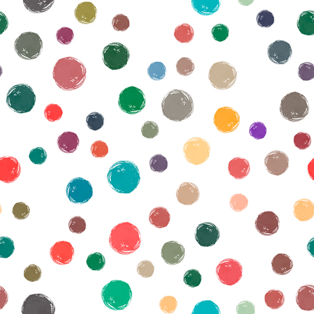 Watercolor circles repeated, borderless pattern which can be used as wallpaper, desktop, printing, wrapping, fabric or background for your blog, covers and your design.
