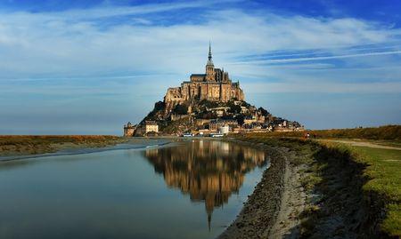 Mountain Saint Michel. France