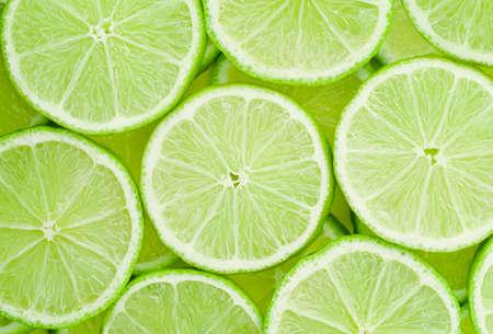 background of fresh sliced lime Reklamní fotografie