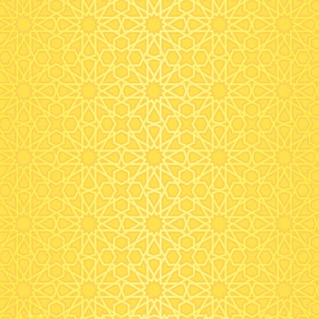 Vector background with pattern in islamic style.