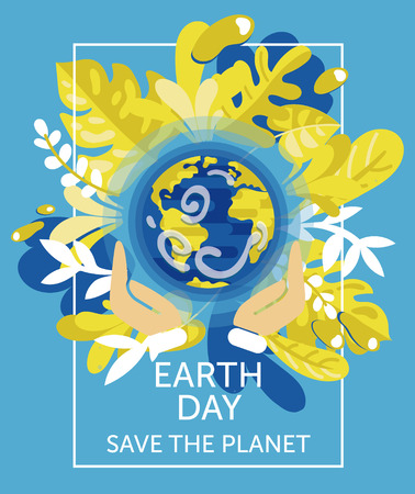 It can be used for the ecology organization, vector illustration Banque d'images - 109878306