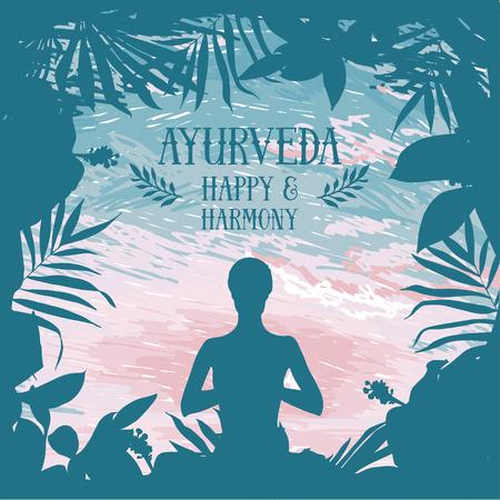 Poster for ayurveda and yoga