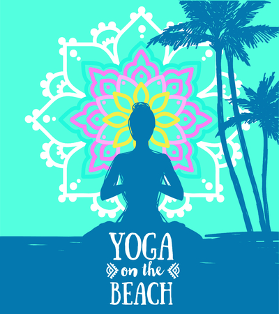 poster for yoga practice